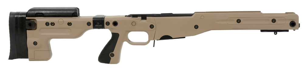 AI AT Chassis, Stage 2 für Rem. 700 Short Action, pale brown