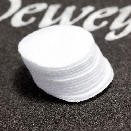 Dewey Patches rund, Kal. .25/.28/.30