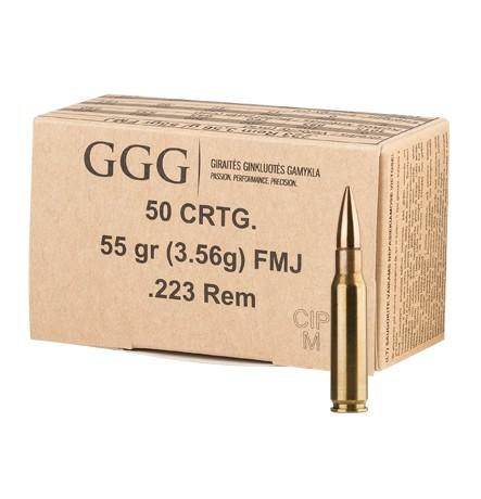 GGG .223Rem. 55grs FMJ