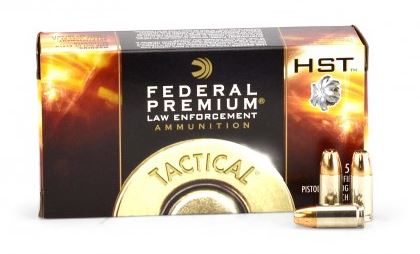 Federal 9mm 124grs HST
