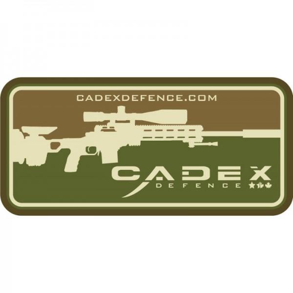 Cadex Defence Velcro PVC Patch Tan/Green