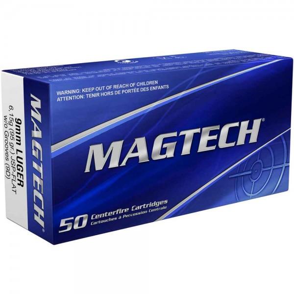 Magtech 9 mm 95 grs JSP-F