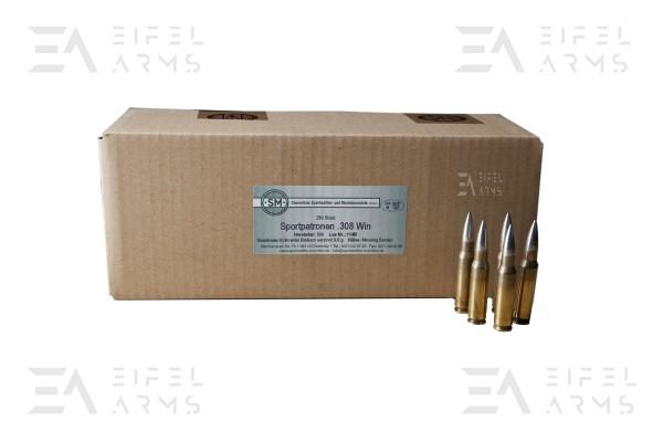 SM .308Win. 9,6 g FMJ Surplus 250 Stück